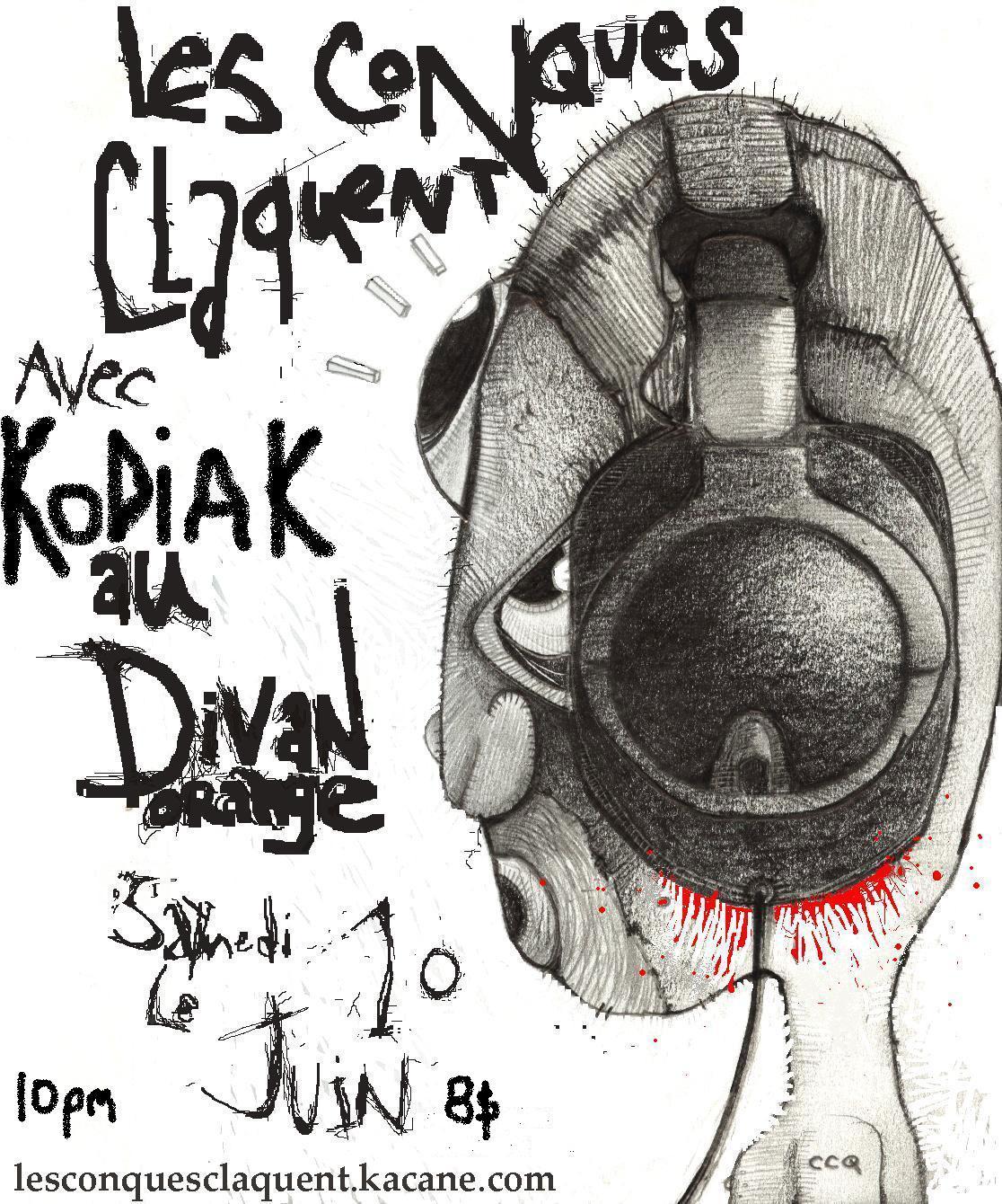 CCQ KodiaK divan 10 juin  des Conques Claquent