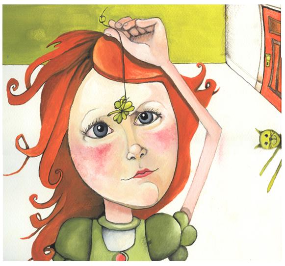 Maude-Lili et le trèfle  d'Amélie