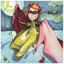 Maude-Lili cape