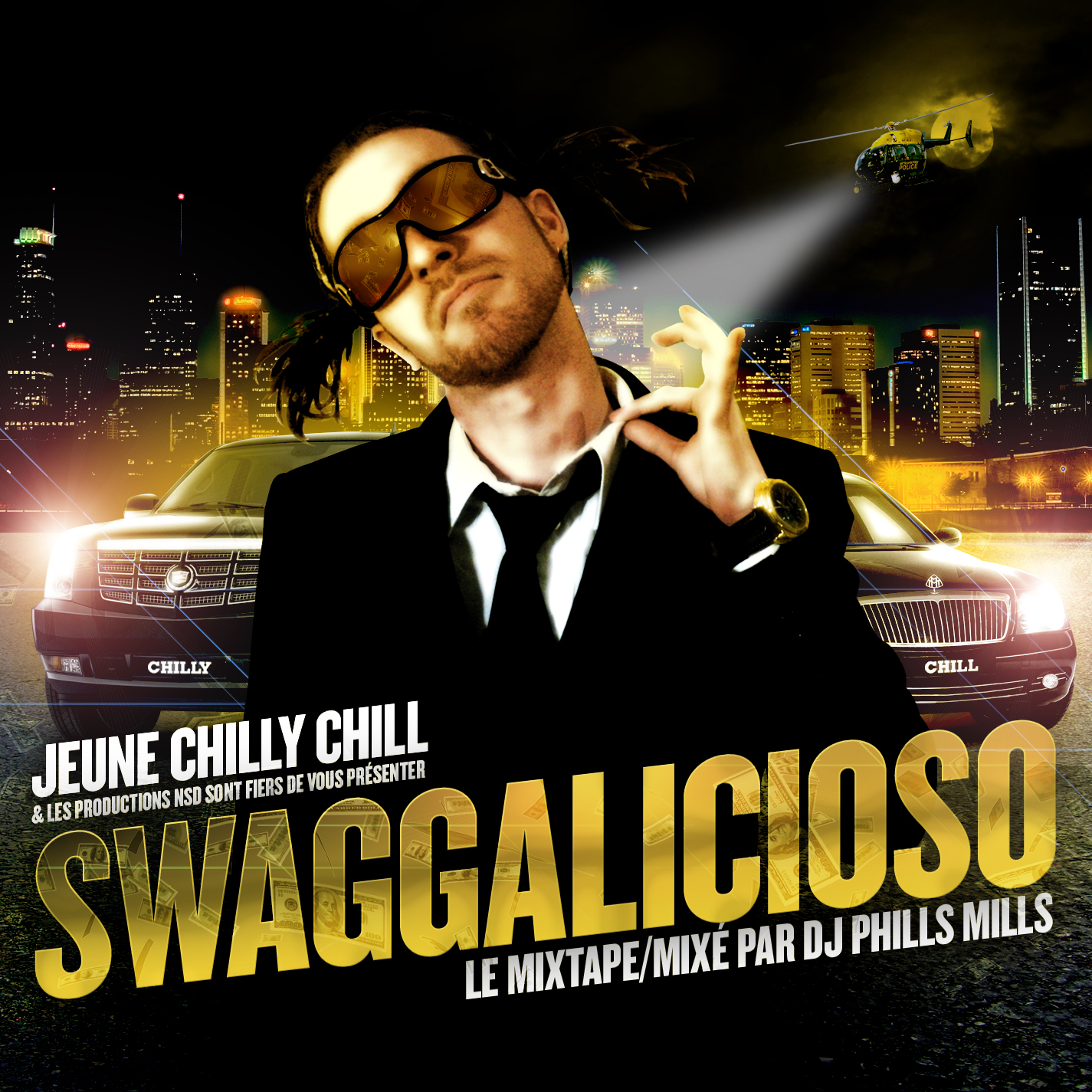 SWAG Frontcover  de Jeune Chilly Chill