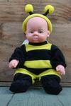 abeille à un sourci